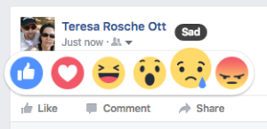 Sad for my FB friends :(