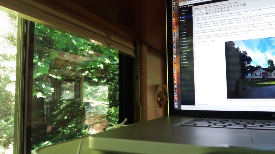 Sweet RV office