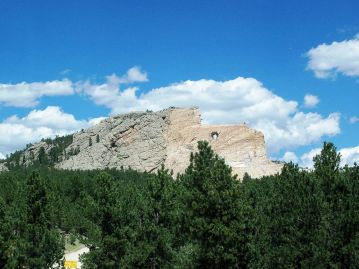 Photo by Idawriter, Crazy Horse Memorial - panoramio, CC BY-SA 3.0