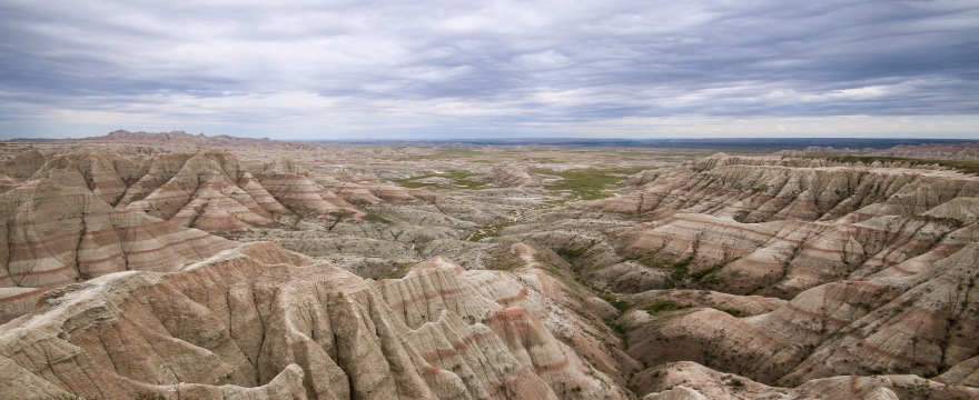 Badlands, South Dakota, Martin Kraft, Wikimedia