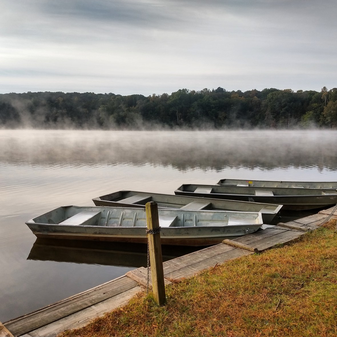 Reservoir @ Sweetwater Creek State Park – Photo by Teresa Rosche Ott